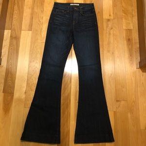 J Brand flared denim Size 26- never worn